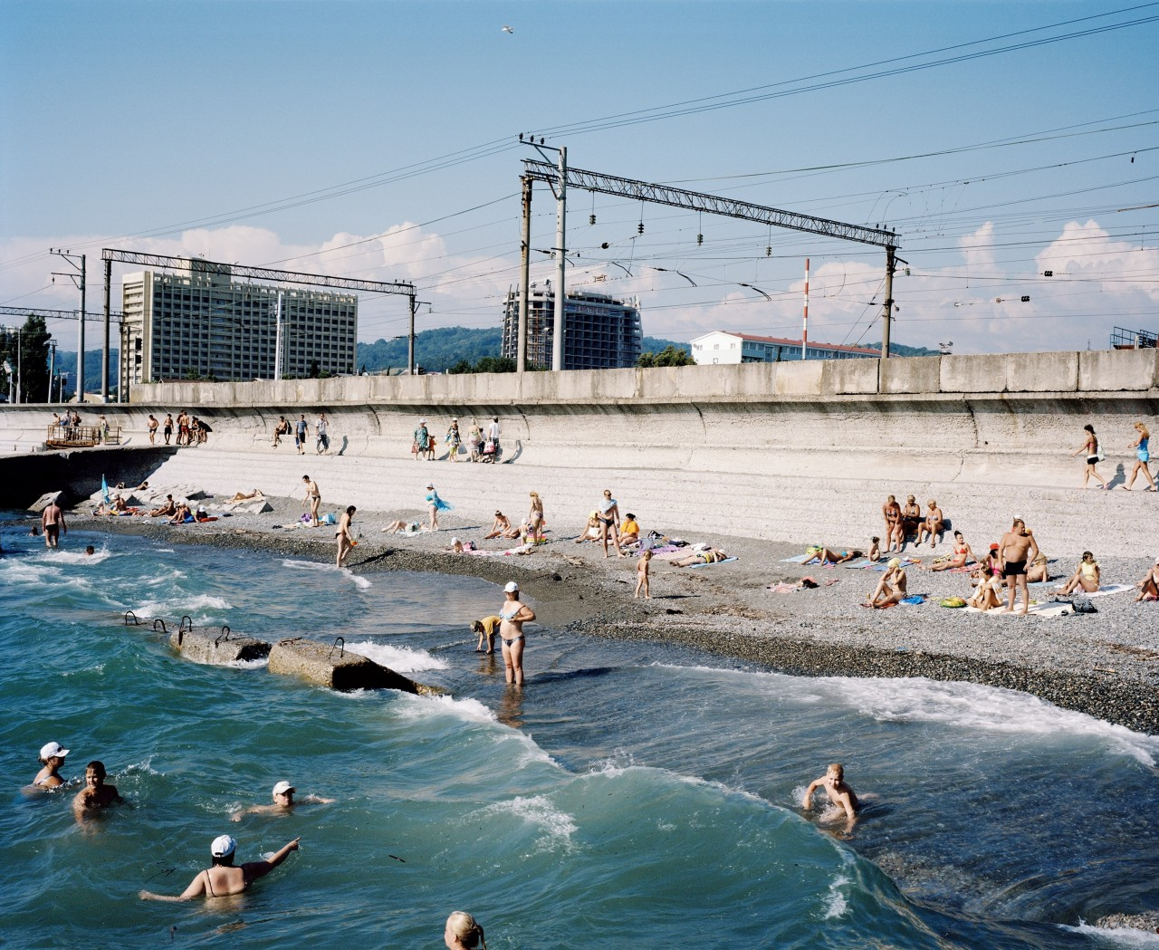 Beach, Adler, Sochi Region, 2011